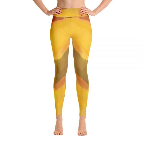 yoga leggings - california colors
