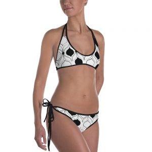 swimwear: black & white