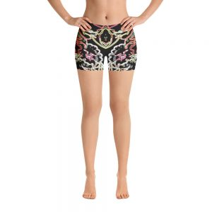 barre shorts electric garden