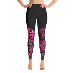 fun yoga leggings