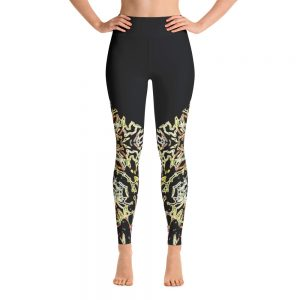 yoga gear electric black