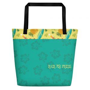 yoga bags aloha blue