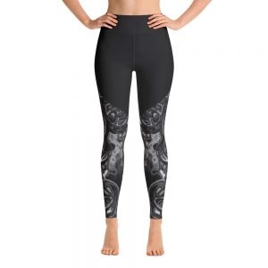 active clothing leggings bubbles