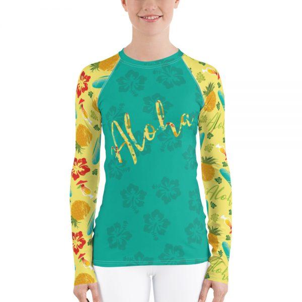 rash guard aloha