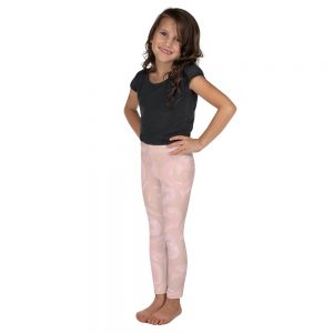 pink kids leggings
