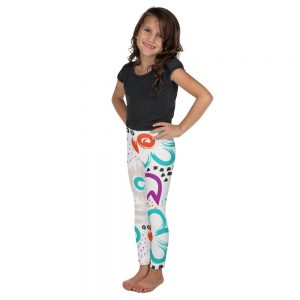 floral kids leggings