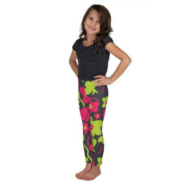 neon kids leggings